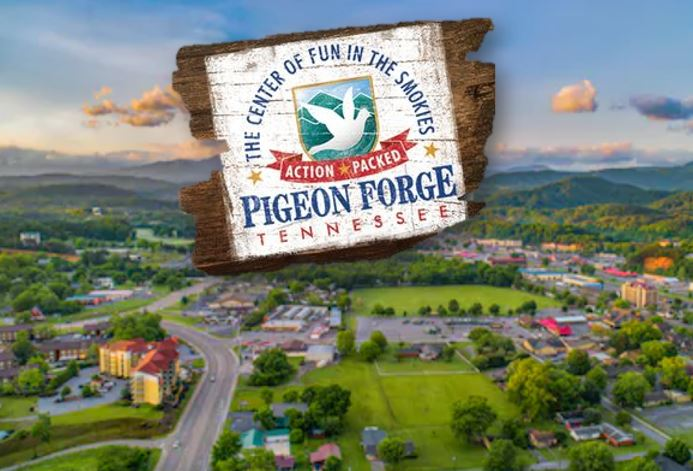 PIgeon Forge Logo