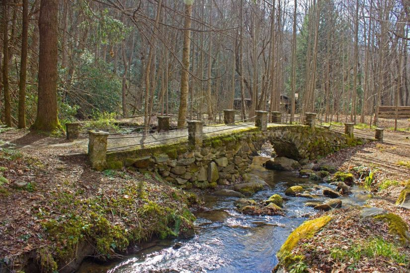 Troll Bridge Secret Places in the Smokies