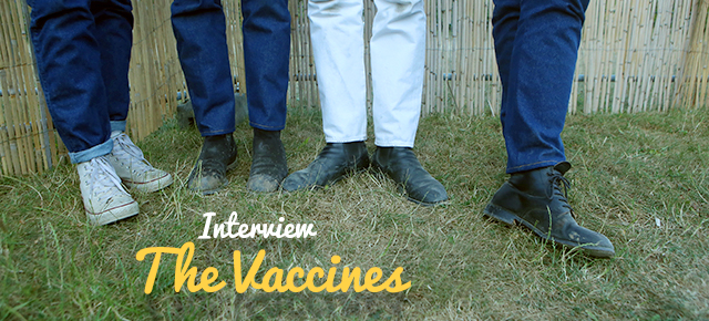 Rencontre // The Vaccines // Solidays 2015