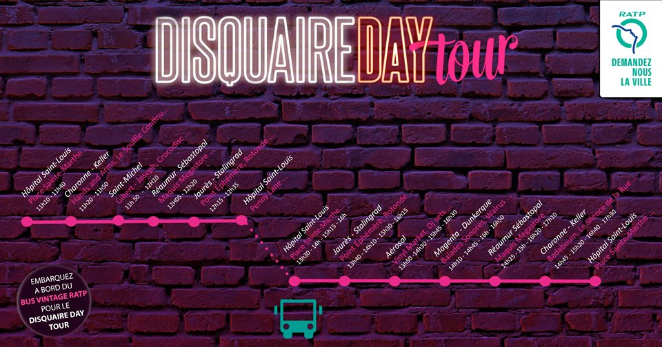 parcours disquaire day bus dancing feet