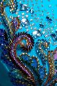 Dress Embellishment by Fashions for Passion Interesting use of bugle beads for swirls.