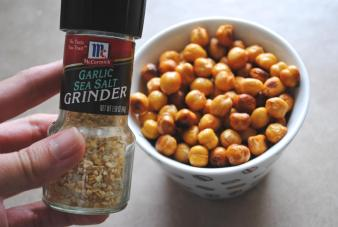 Dancing for Donuts   Sriracha Roasted Chickpeas
