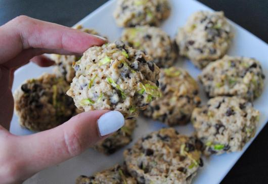 Dancing for Donuts | Chocolate Chip Zucchini Oatmeal Cookies.