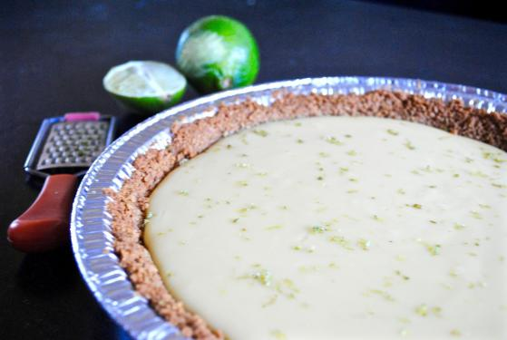 Dancing for Donuts | Classic Key-Lime Pie.