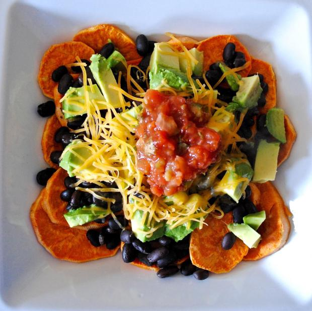 Dancing for Donuts | Sweet Potato Nachos.
