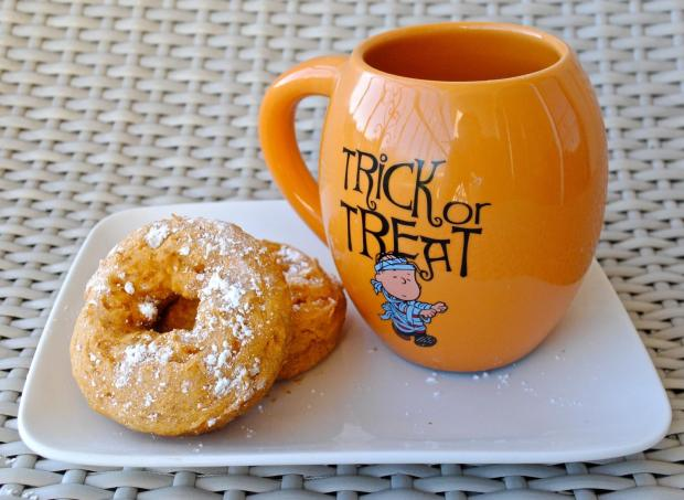 Dancing for Donuts | 2-Ingredient Pumpkin Donuts