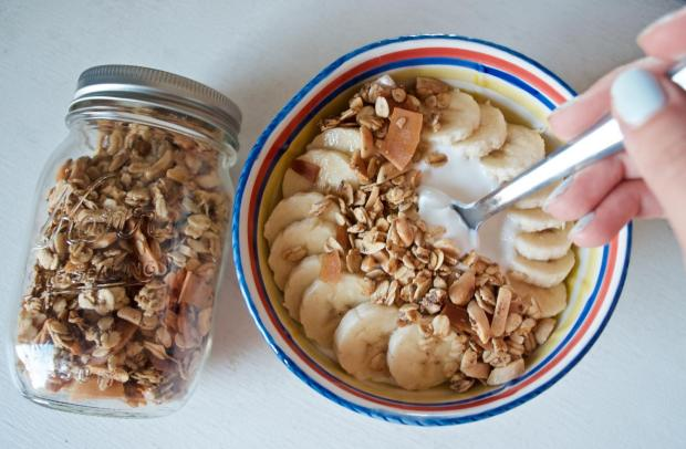 Dancing for Donuts | Easiest Coconut Almond Granola.