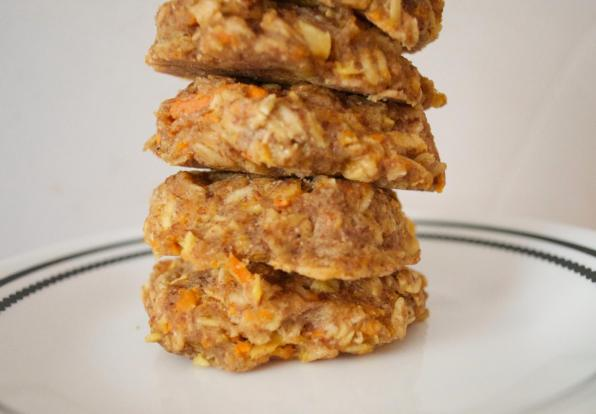 Dancing for Donuts | Carrot-Apple Spice Cookies.