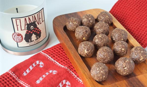 Dancing for Donuts | Peppermint Protein Brownie Bites with Further Food Collagen
