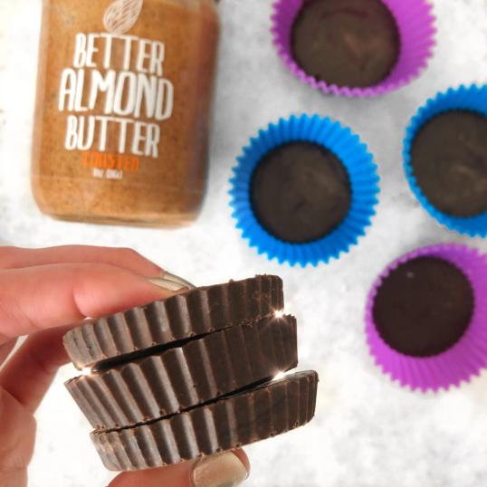 Dancing for Donuts | Chocolate Almond Butter Protein Fudge