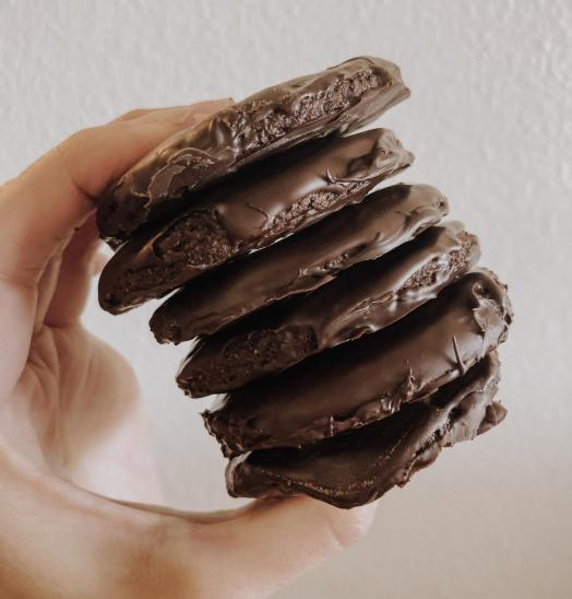 Paleo CBD Thin Mints | Dancing for Donuts