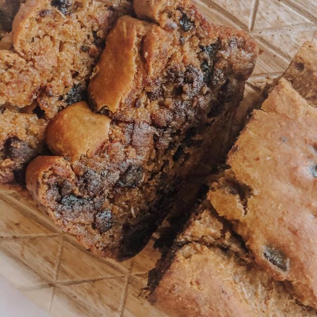 Gluten-Free Cassava Flour Chocolate Protein Zucchini Bread | Dancing for Donuts