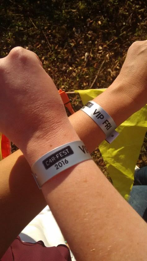 CarFest VIP bands