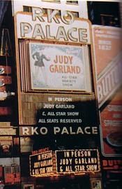 Judy at the Palace in NY.