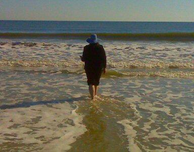 Kiki returned it to the sea