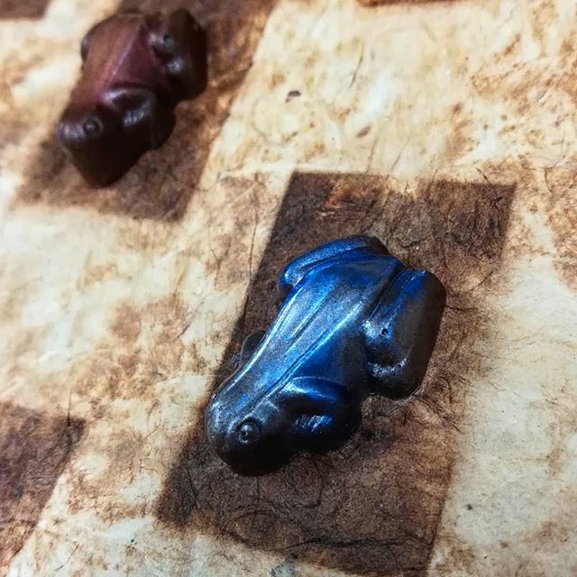 """CHOCOLATE FROG"" - made for our Harry Potter dinner @eternapopup#chocolatier #popuprestaurant #harrypotter #coquifrog"