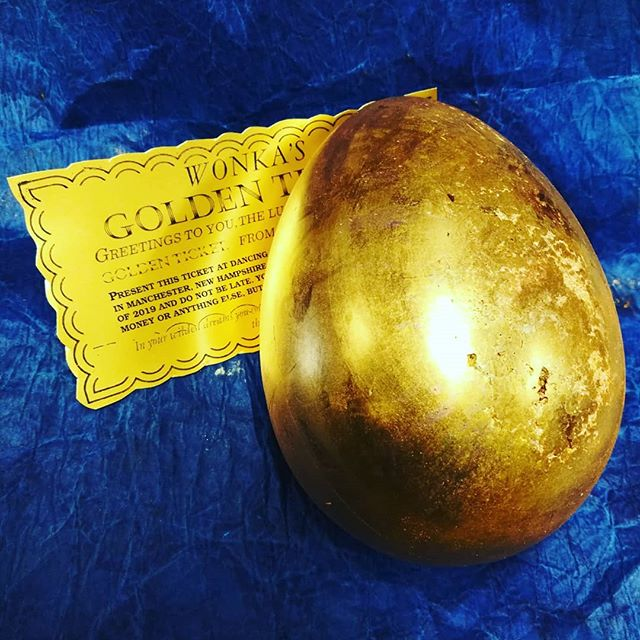 Golden ticket, golden egg. Friday's Willy Wonka pop-up at Dancing Lion Chocolate.@eternapopup