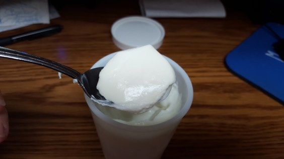 See! So simple to make nice, creamy, home made yogurt!