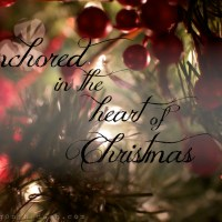 anchored in the heart of christmas