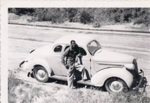 Dad's 1st car early 1950s. DeBorah Ann Palmer