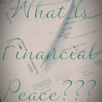 What Is Financial Peace???