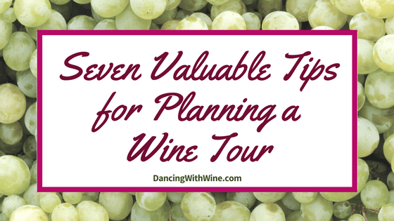 Seven Valuable Tips for Planning a Wine Tour
