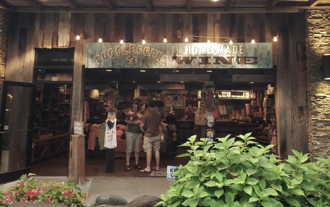 Bootleggers Homemade Wine Storefront