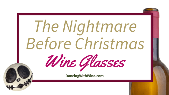 The Nightmare Before Christmas Wine Glasses
