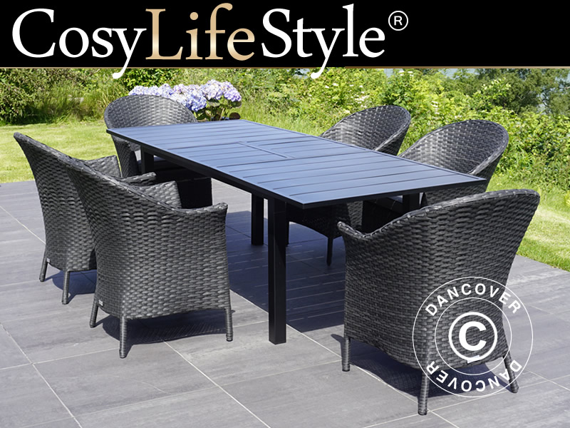 Dining set with comfortable chairs