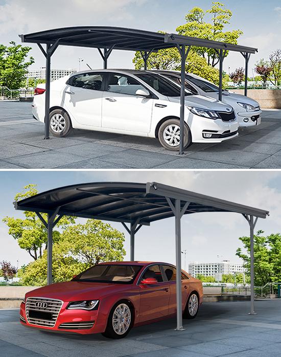 Maintenance free carports