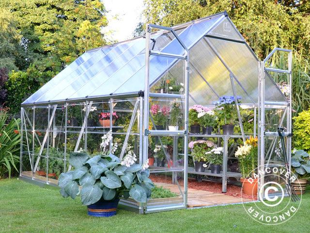 Snow proof greenhouses