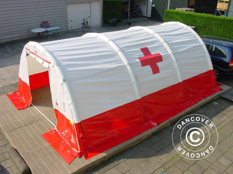 Emergency and medical tent