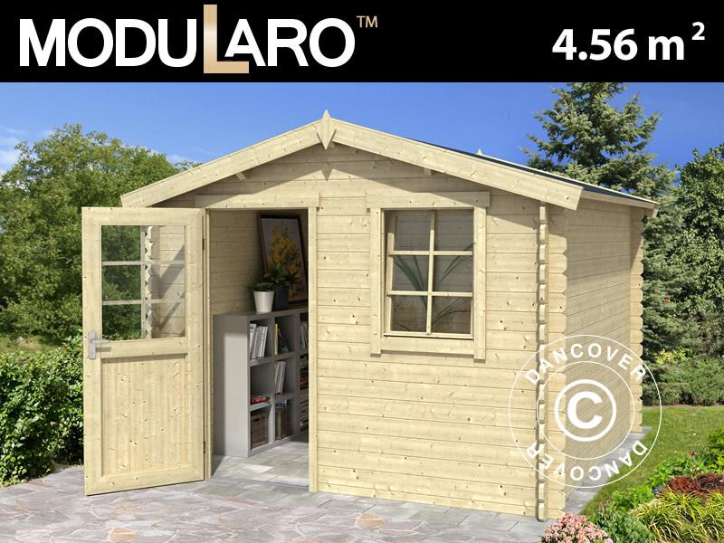 Modularo wooden shed