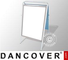 A-board, 78x126 cm, White