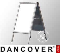 A-board, 74.2x120 cm, Aluminium