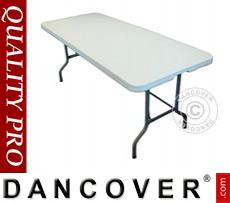 Banquet table 200x90x74 cm, Light grey (1 pcs.)