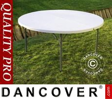 Round folding table Ø 152 cm, Light grey (1 pcs.)