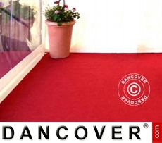 Carpet 2.5x16 m Red, 400 g