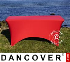 Stretch table cover, 150x72x74 cm, Red