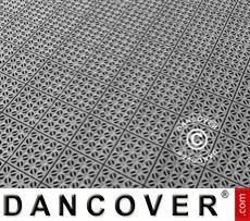Plastic flooring Basic, Multiplate, Grey, 40.59 m²