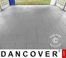 Plastic flooring Basic, Piastrella, Grey, 10.08 m²