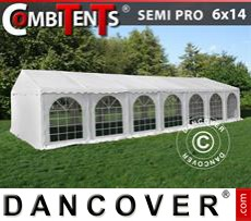 Party Marquee SEMI PRO Plus CombiTents® 6x14m 5-in-1
