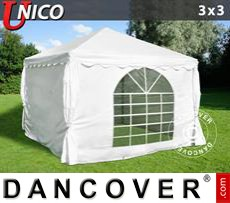 Party Marquee UNICO 3x3 m, White