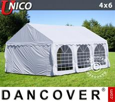 Party Marquee UNICO 4x6 m, White