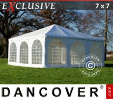 Party Marquee Exclusive 7x7 m PVC, White