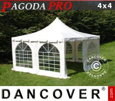 Party Marquee Pagoda PRO 4x4 m, PVC