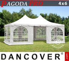 Party Marquee Pagoda PRO 4x6 m, PVC