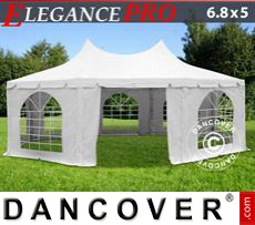 Party Marquee Elegance PRO 6.8x5 m, PVC