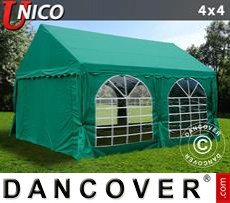 Party Marquee UNICO 4x4 m, Dark Green