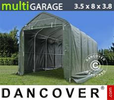 Boat shelter multiGarage 3.5x8x3x3.8 m, Green